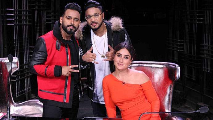 Kareena Kapoor Khan, Bosco Martis and Raftaar