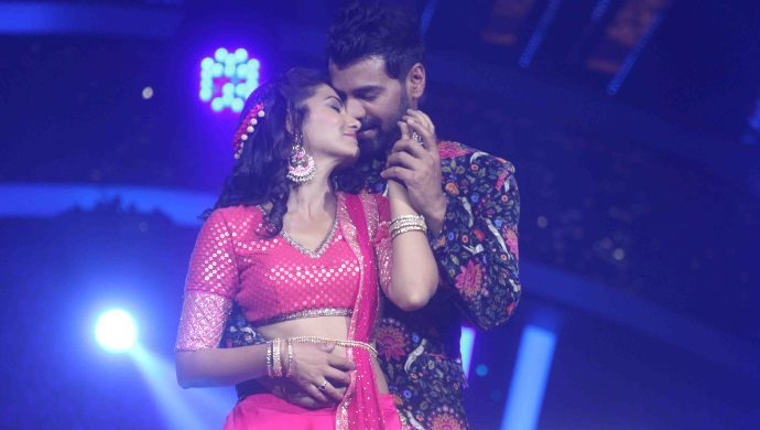 Shabir Ahluwalia and Sriti Jha's dance performance