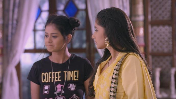 Still from Guddan Tumse Na Ho Payega with Alisha and Guddan
