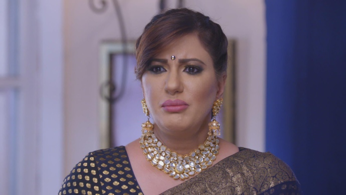 Still from Kundali Bhagya with Rakhi Luthra