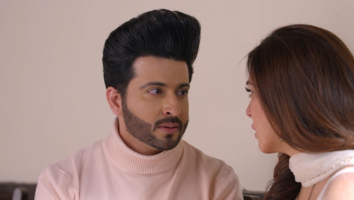 Still from Kundali Bhagya with Karan and Preeta