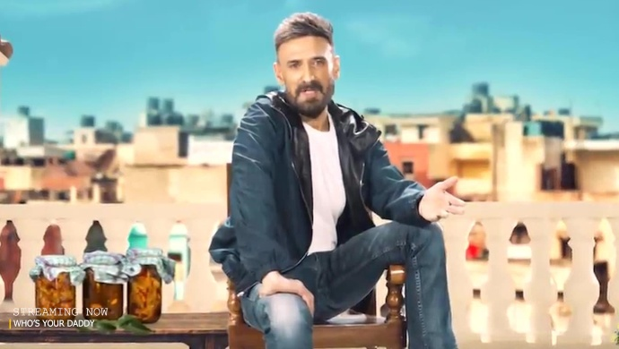 Rahul Dev In a still from Who's Your Daddy